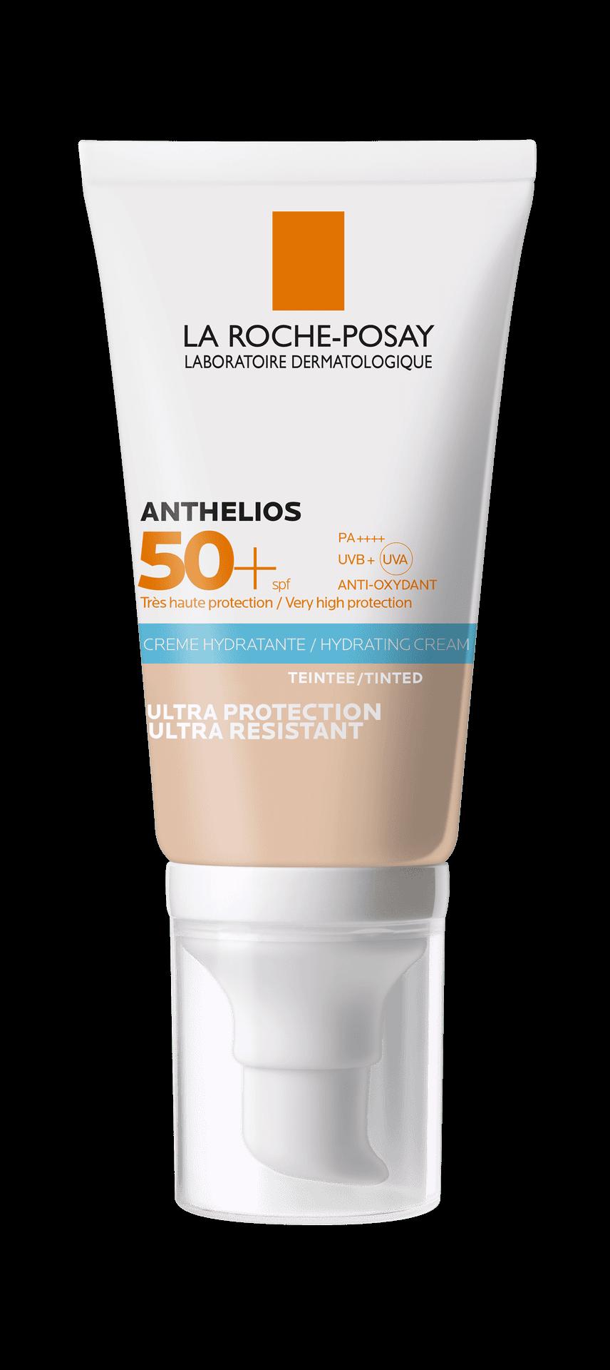 ANTHELIOS CREMA HIDRATANTE SPF50+ CON COLOR