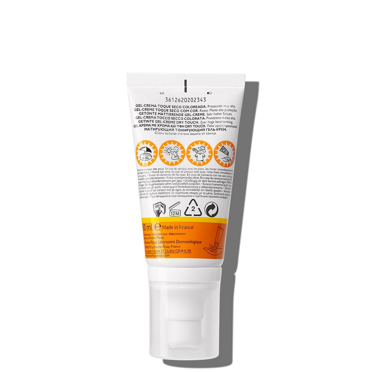 La Roche Posay ProductPage Sun Anthelios XL Tinted Dry Touch Cream Spf