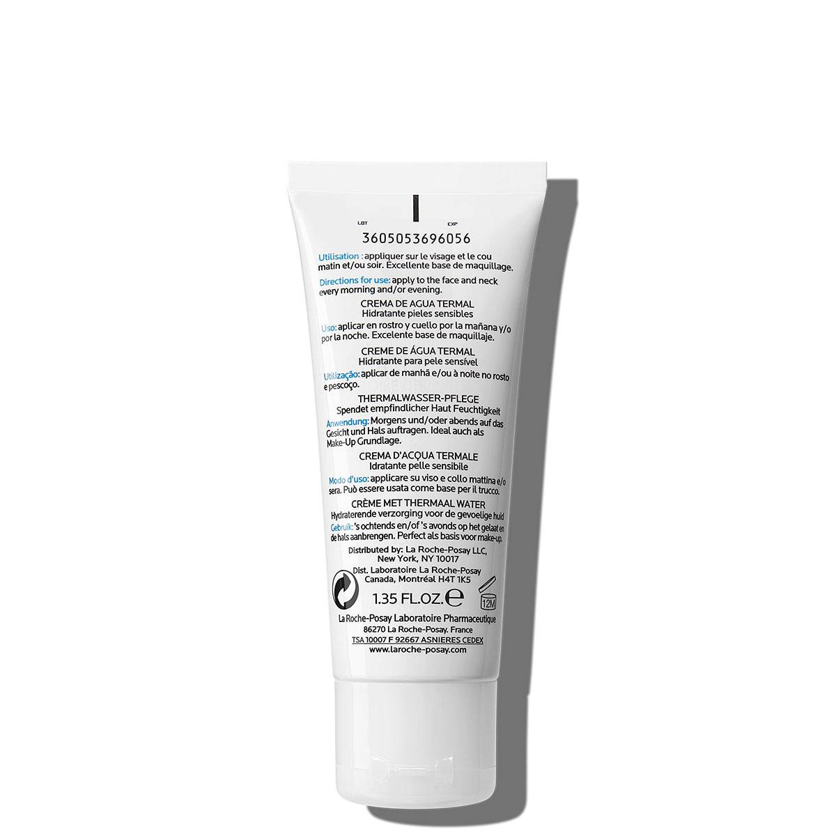 La Roche Posay ProductPage Hydreane Extra Rich 40ml 3337872413346 Back