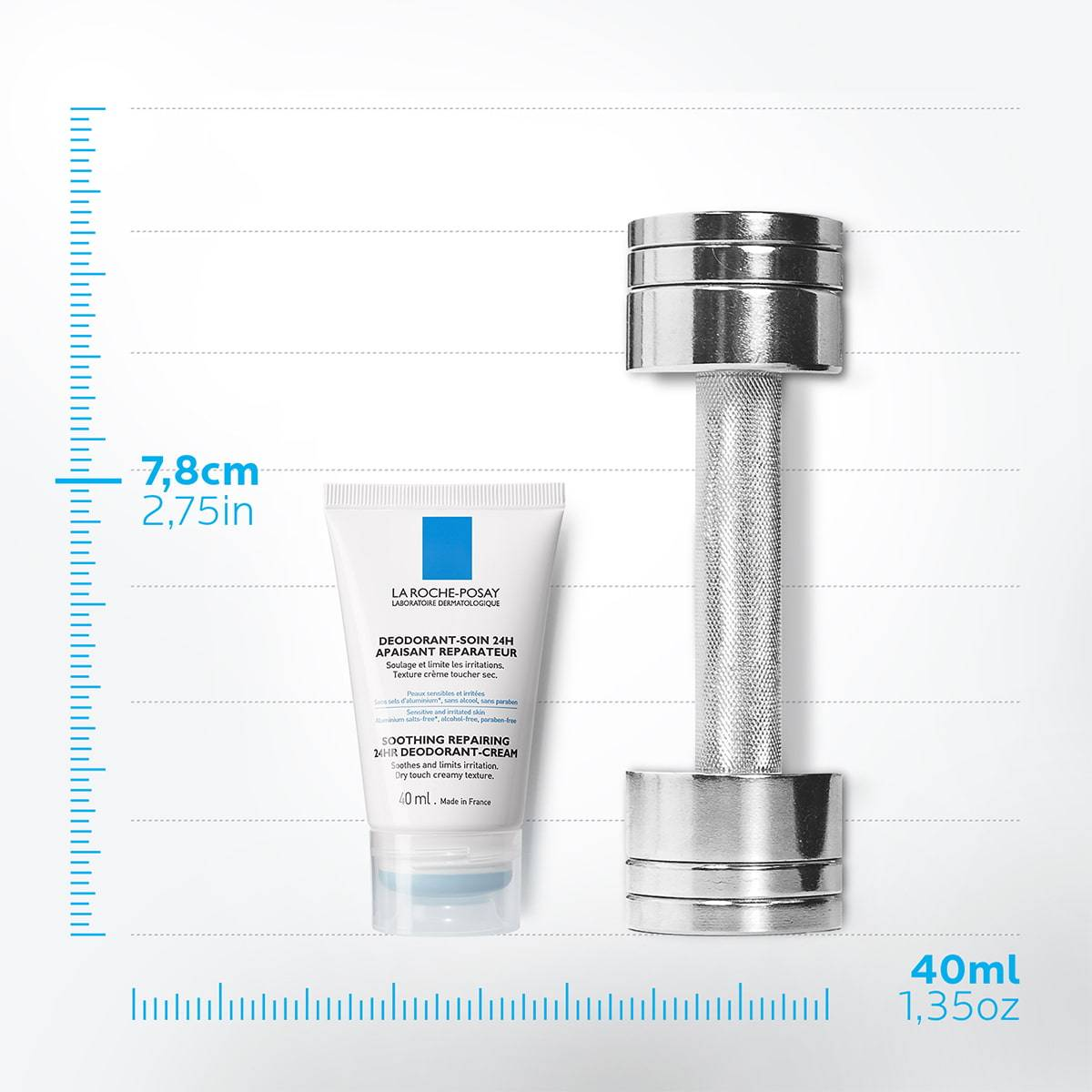 La Roche Posay ProductPage Deodorant Soothing Repairing 24h Cream 3337