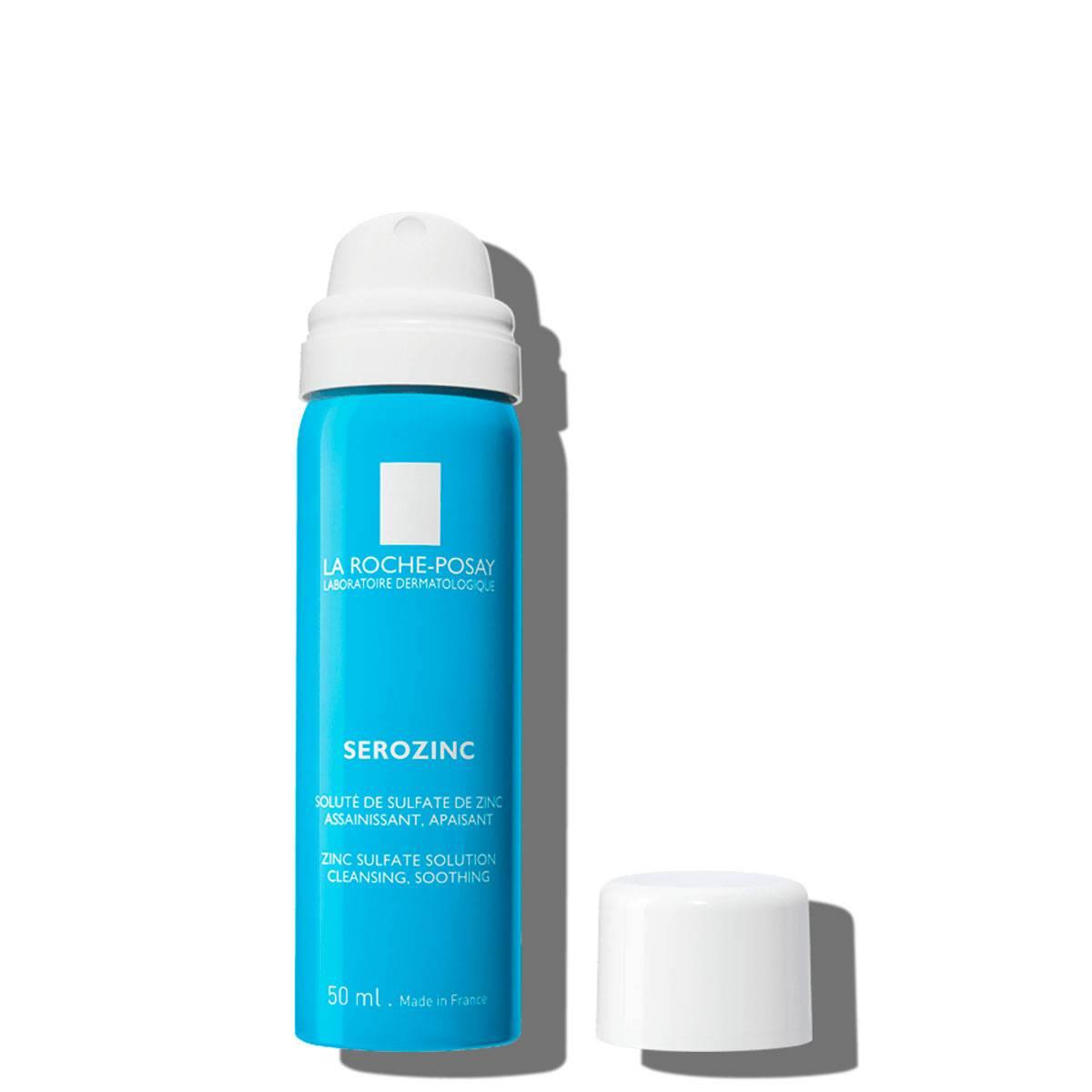 La Roche Posay ProductPage Serozinc Spray Zinc 50ml 3337875522601 Open