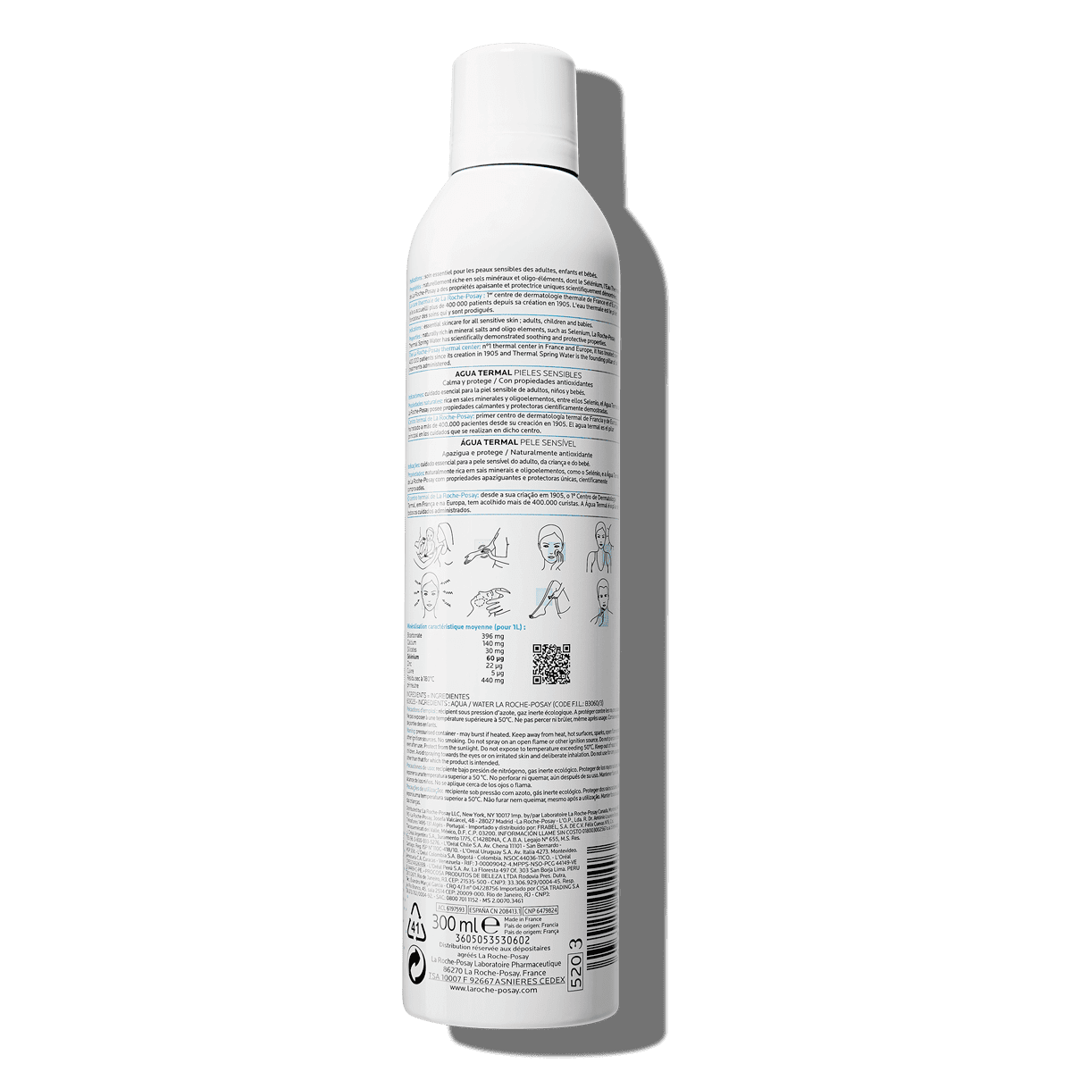 La Roche Posay ProductPage Thermal Spring Water 300ml 3433422404403 Ba