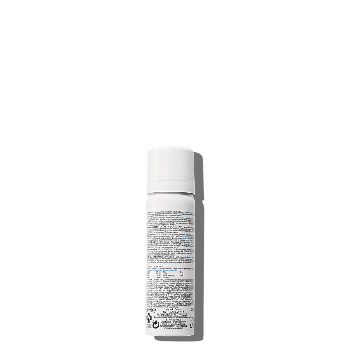 La Roche Posay ProductPage Thermal Spring Water 50ml 3433422403765 Bac